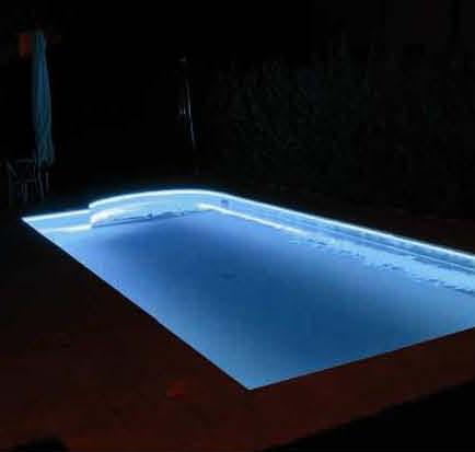 Forum come illuminare la piscina e il terrazzo - Strisce led per bordo piscina ...